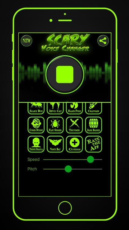 Scary Voice Changer & Recorder screenshot-4
