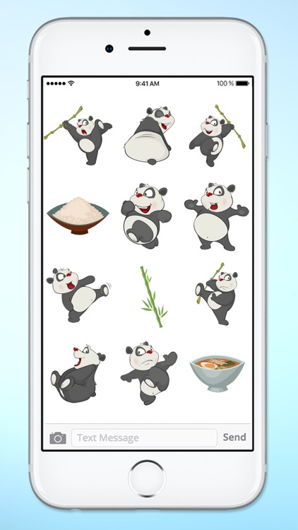 Fun Bamboo Panda Sticker Pack