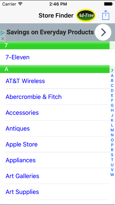 Store Finder: Find Nearby Food, Shopping & Grocery