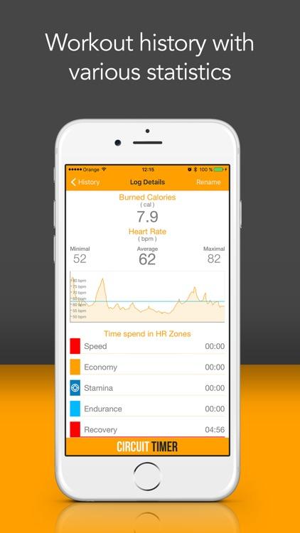 Circuit Training Interval Timer Pro screenshot-3