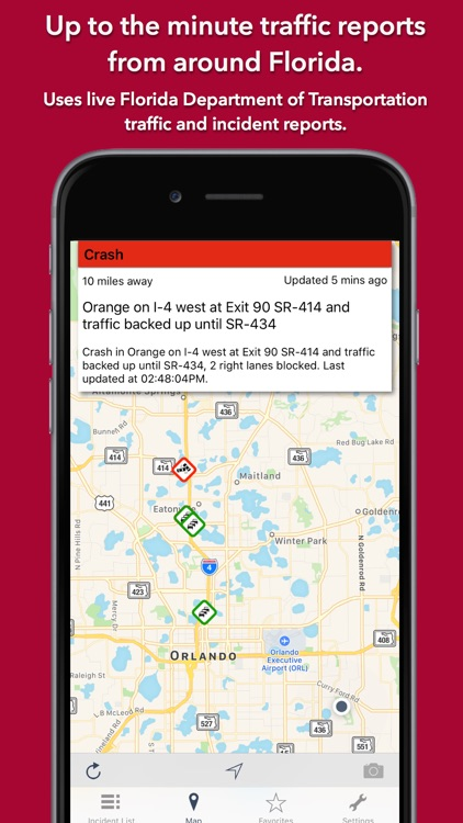 Florida Roads Traffic screenshot-0