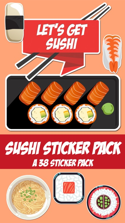 Time For Sushi Sticker Pack