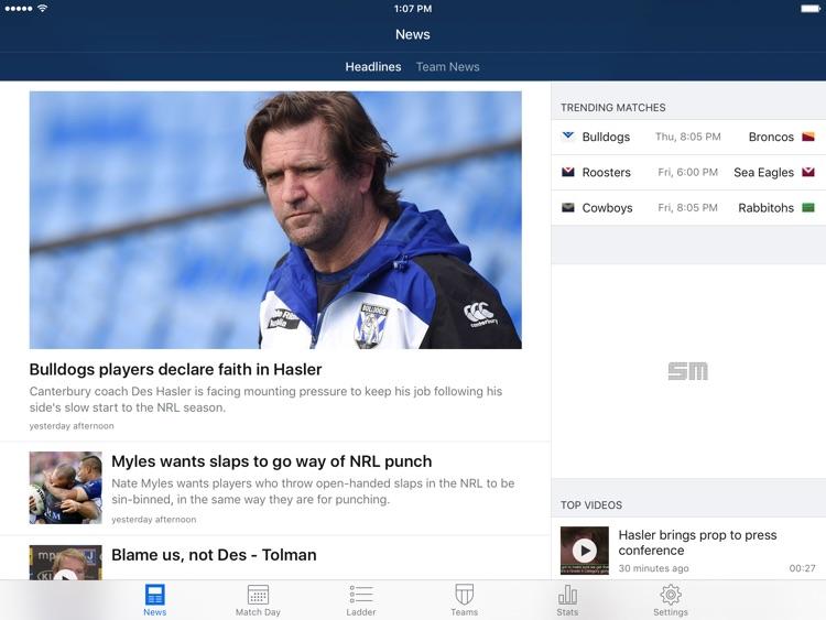 League Live for iPad