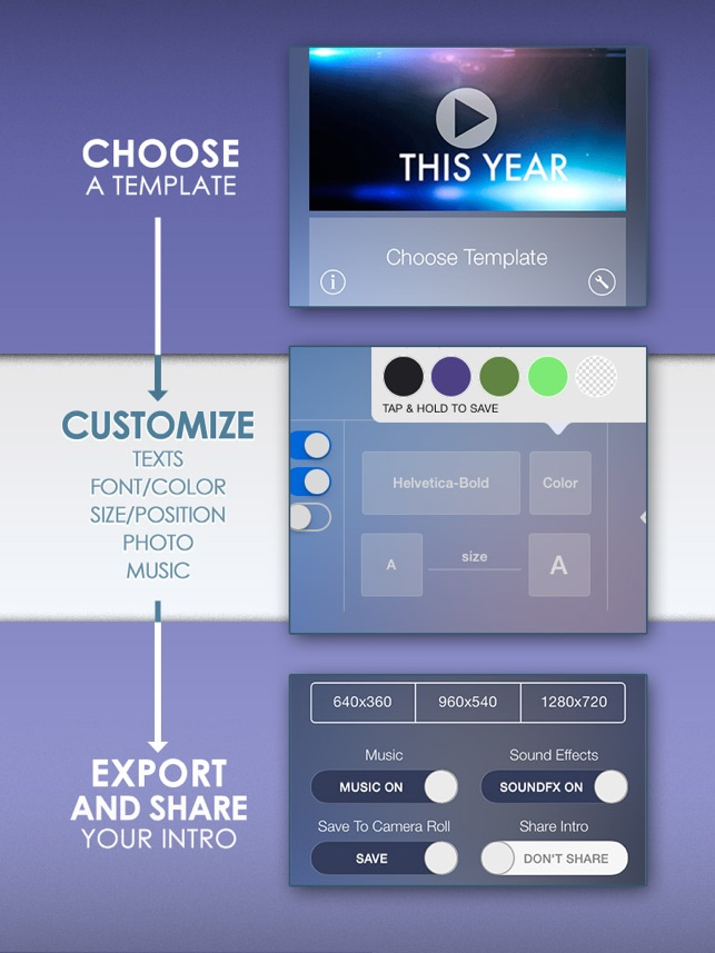 Intro designer for imovie and youtube on the app store intro designer for imovie and youtube on the app store maxwellsz