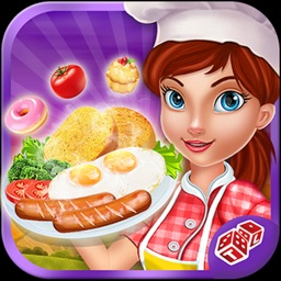 Breakfast Cooking Mania: Master Chef In Restaurant