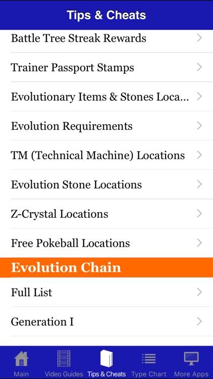 Guide & Cheats for Pokemon Sun & Moon screenshot-3