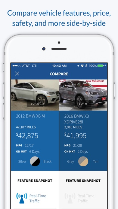 CarStory: find a new used car screenshot