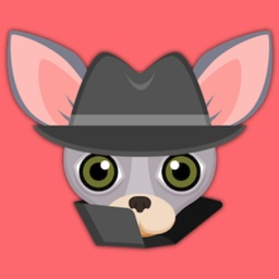 Blue Tan Chihuahua Emoji Stickers for iMessage