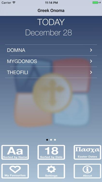 Greek Onoma