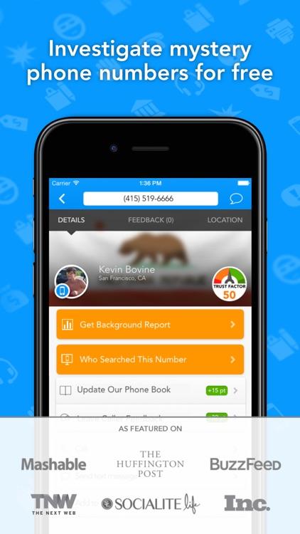 CallerSmart Reverse Lookup Phone Book + Caller ID app image