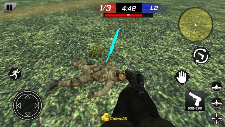 Modern Frontline Shooter 3D screenshot-3