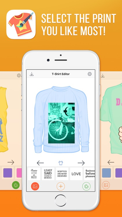 T-Shirt Editor - Do It Yourself Fashion Design