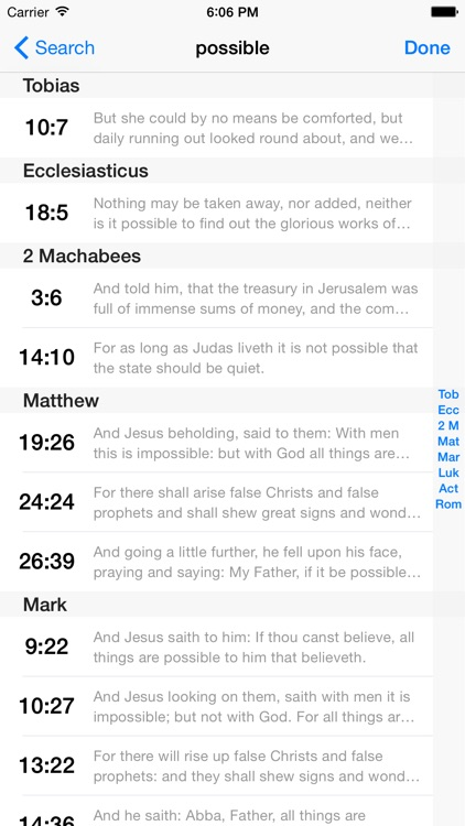 VerseWise Bible Douay-Rheims screenshot-4