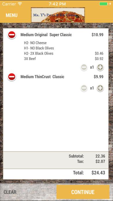 Mr T's Pizza & Ice CreamScreenshot of 5
