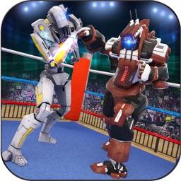 Robot Ring Fighting Battle