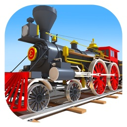 Tricky Train 3D Puzzle Game