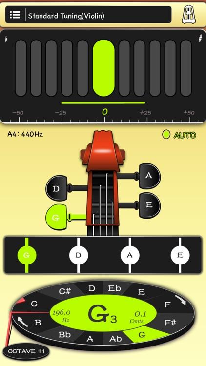 violin tuner Free and metronome - Violin toolkit by rui qin