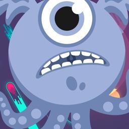 Monster Hero Fever / Stickers for iMessage