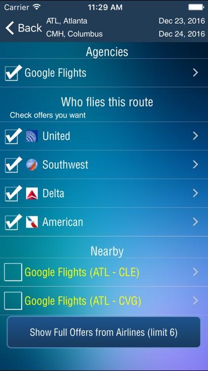 Columbus Airport Pro (CMH) + Flight Tracker screenshot-3