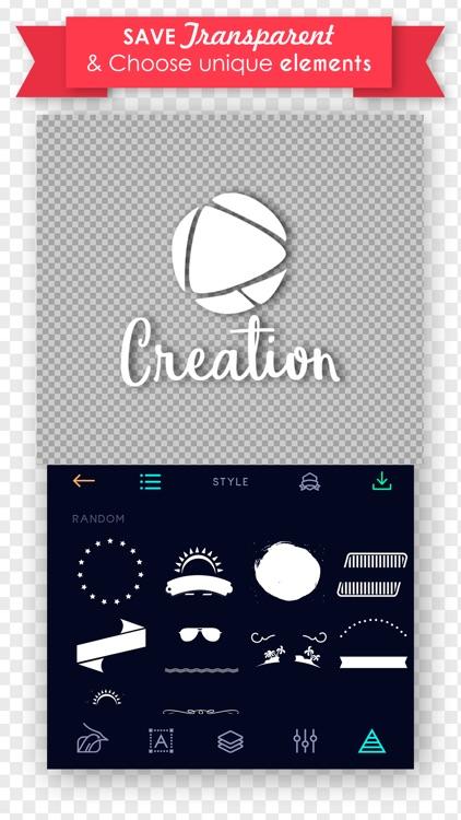 Logo Maker - logos flyer, poster Creator & Design screenshot-3