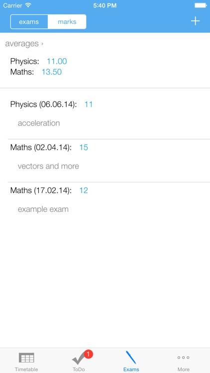 MyTimeTable - The School App screenshot-3