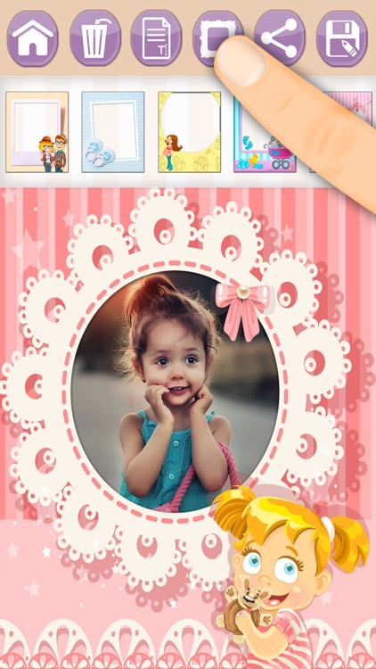 Baby Photo Frames For Kids Photo Editor By Intelectiva