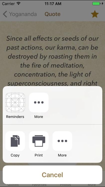 Paramahansa Yogananda Spiritual Quotes screenshot-3