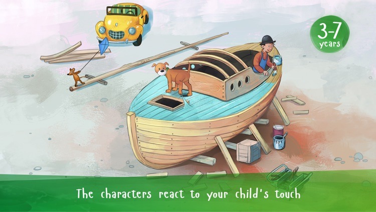 Mulle Meck builds a boat — a children's book