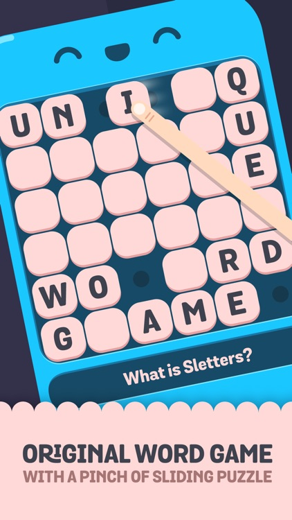 Sletters - A word game mixed with sliding puzzle screenshot-1