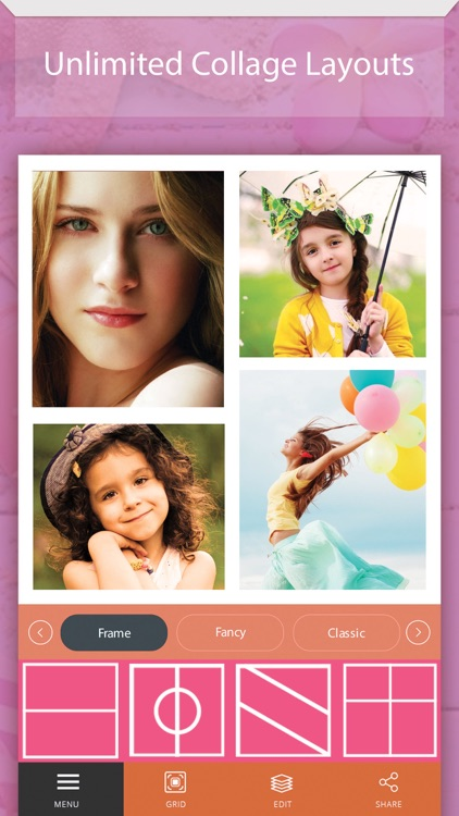 Foto Montage+:Pic Collage Maker & Photo Grid Frame screenshot-1