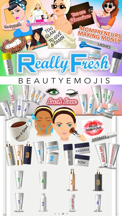 Really Fresh Beauty Emojis