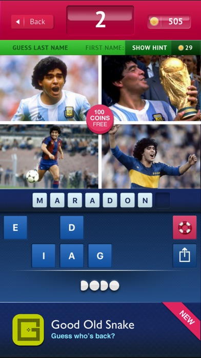 Image of Guess - Football for iPhone