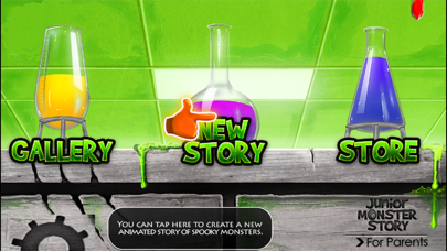 Junior Monster Story PRO - Cartoon Movie Creator screenshot two