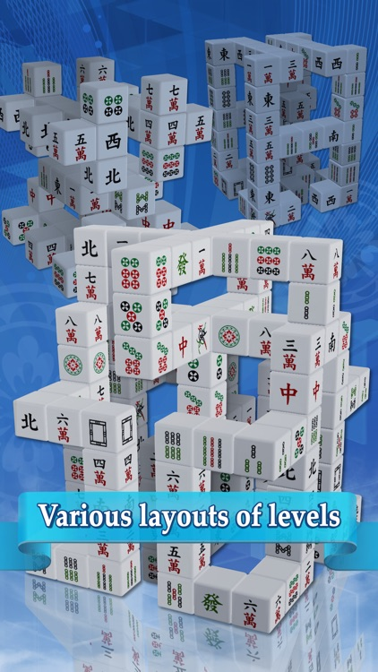 Cubic Mahjong screenshot-1