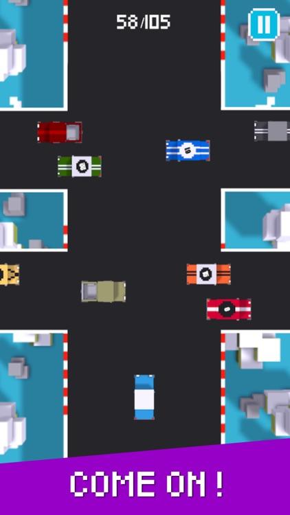Hard Road - Don't Crash The Car On Pixel Highway 2 screenshot-4