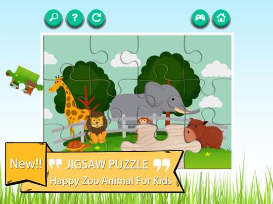 Zoo Animals Cartoon Jigsaw Puzzle Games | App Price Drops