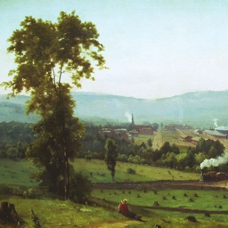 George Inness Artworks Stickers
