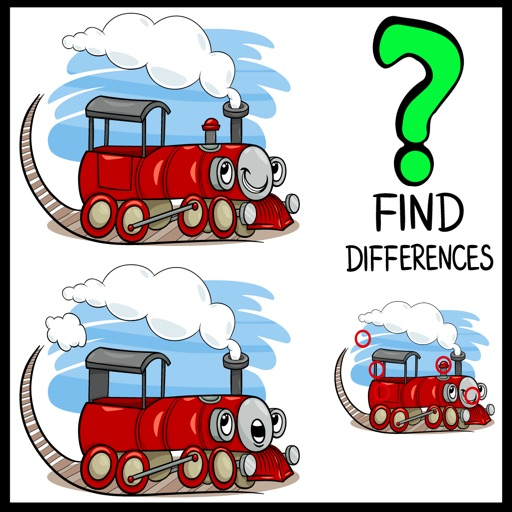 Find the Difference Animals Picture Games World