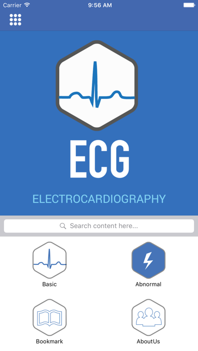 Electrocardiography (ECG) Guide screenshot one