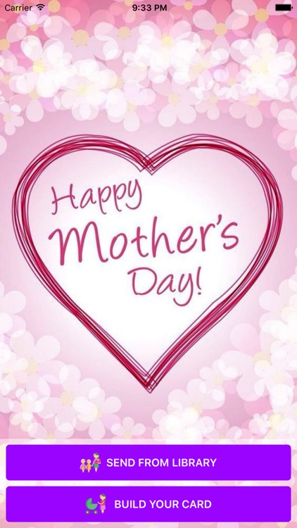 Happy Mother's Day - Gift Card