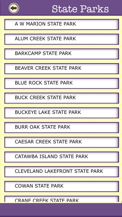 Ohio Campgrounds & Hiking Trails,State Parks screenshot-4