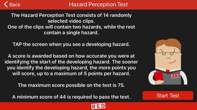 RED Hazard Perception screenshot two