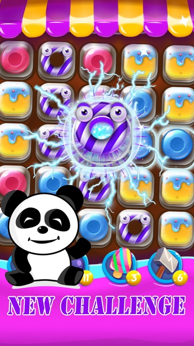 Candy Fever Mania : The Kingdom of Match 3 Games screenshot one