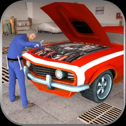 Sport Car Mechanic Workshop 3D