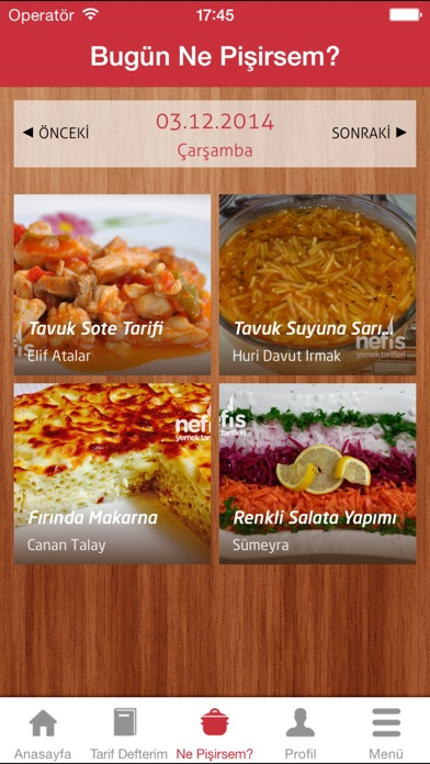 Nefis Yemek Tarifleri screenshot