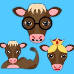 Brawn Brains Beauty - Brown Cow