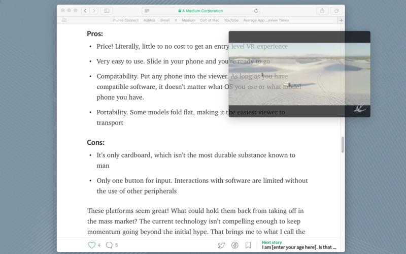 Aurora Browser скриншот программы 3