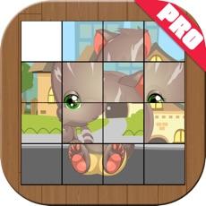 Activities of Cartoon Slide Puzzle For Kids Pro