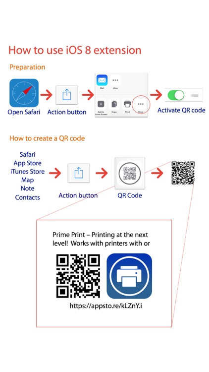QR Station - Create a QR code and instantly scan. screenshot-4