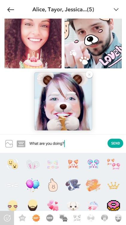 B612 - Trendy Selfie Camera screenshot-3